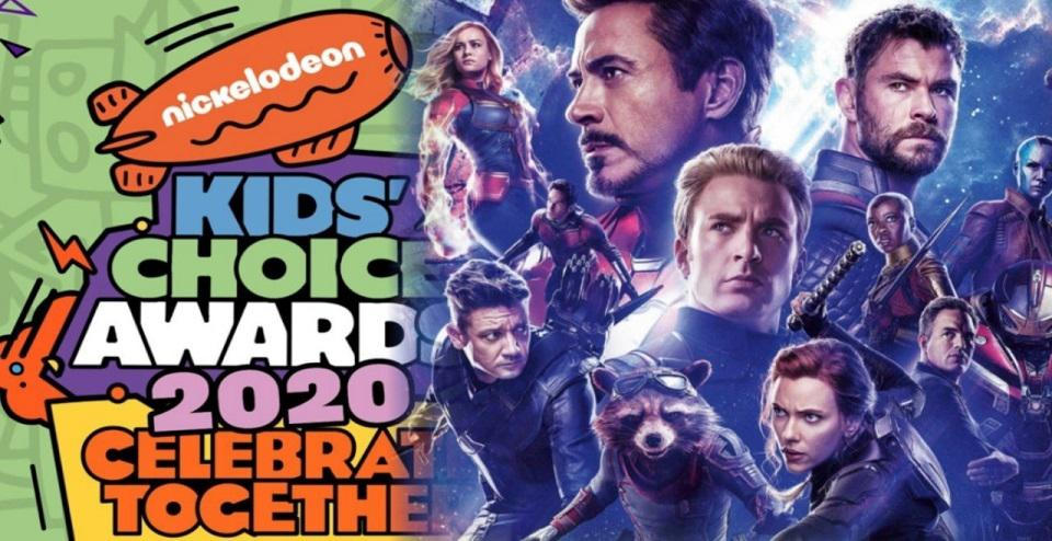 Kids Choice Awards Avengers Banner