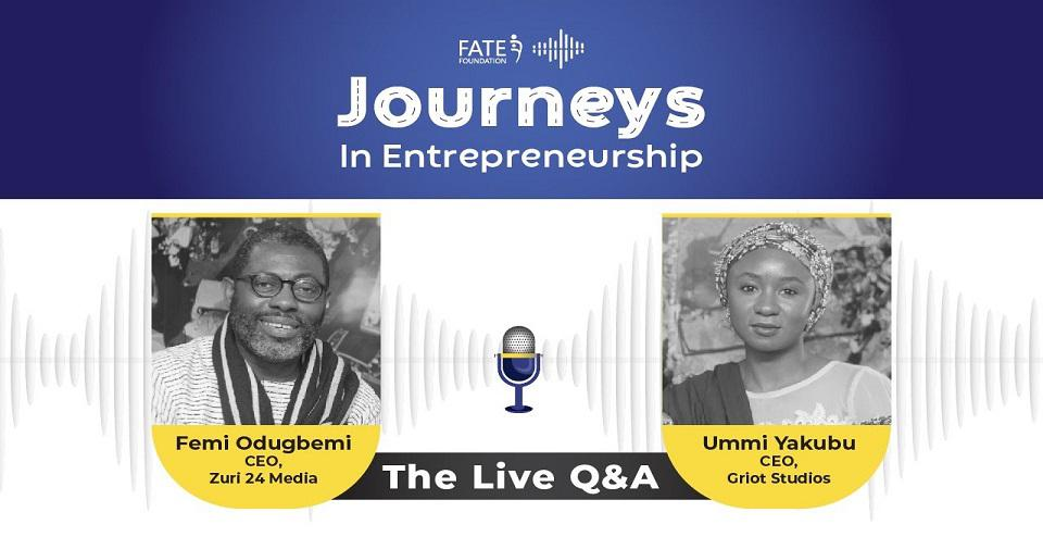 FATE Foundation interview with Femi Odugbemi